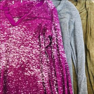 Route 66 bundle / lot of 3 thermal waffle shirts